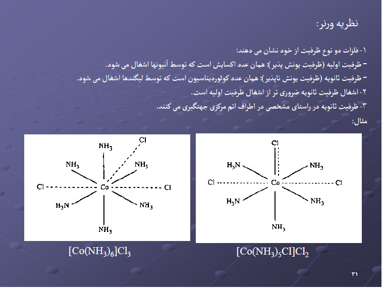 دانلود خلاصه کتاب شیمی معدنی 2 فایل pdf نمونه سوالات تستی پیام نور