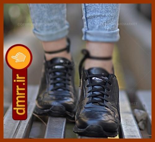 کفش چرم دخترانه اسپرت کفش چرم دخترانه شیک کفش چرم دخترانه جدید کفش چرم دخترانه بدون پاشنه