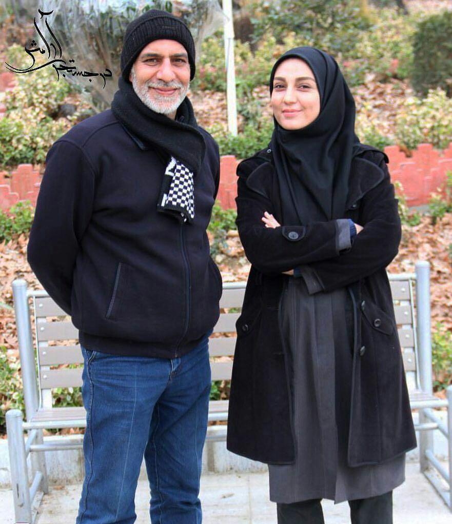 عکس جدید حدیث میرامینی با سعید سلطانی
