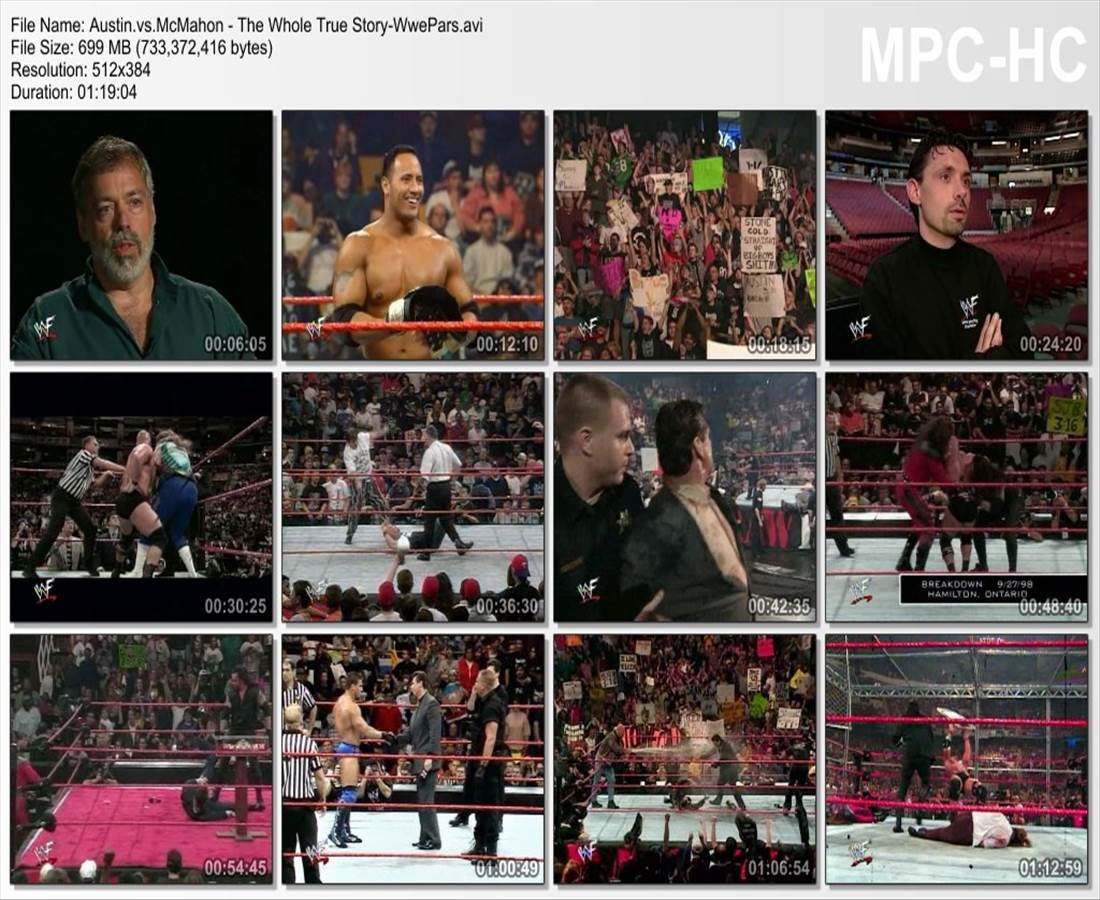 WWE - Austin vs. McMahon