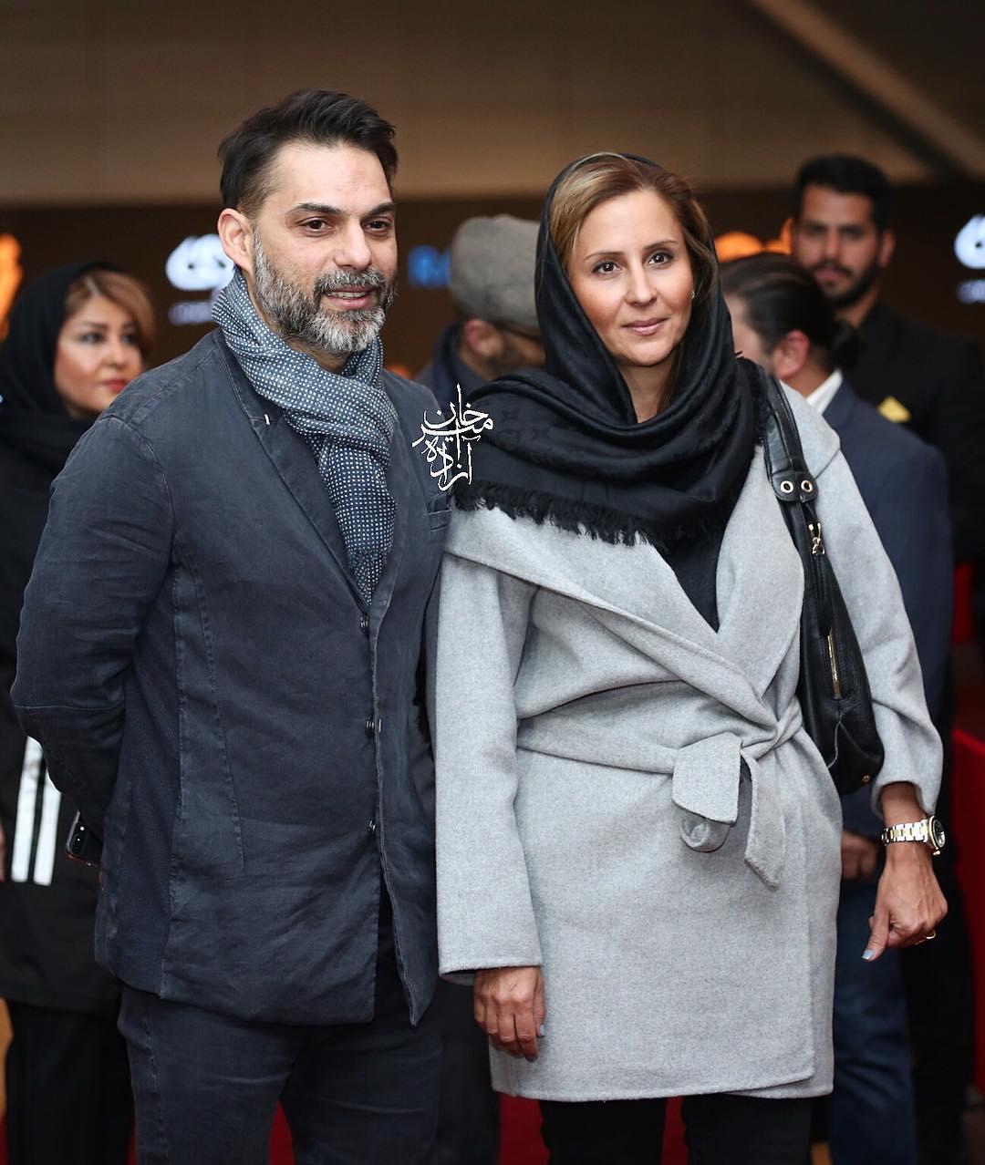 عکسهای جدید پیمان معادی با همسرش