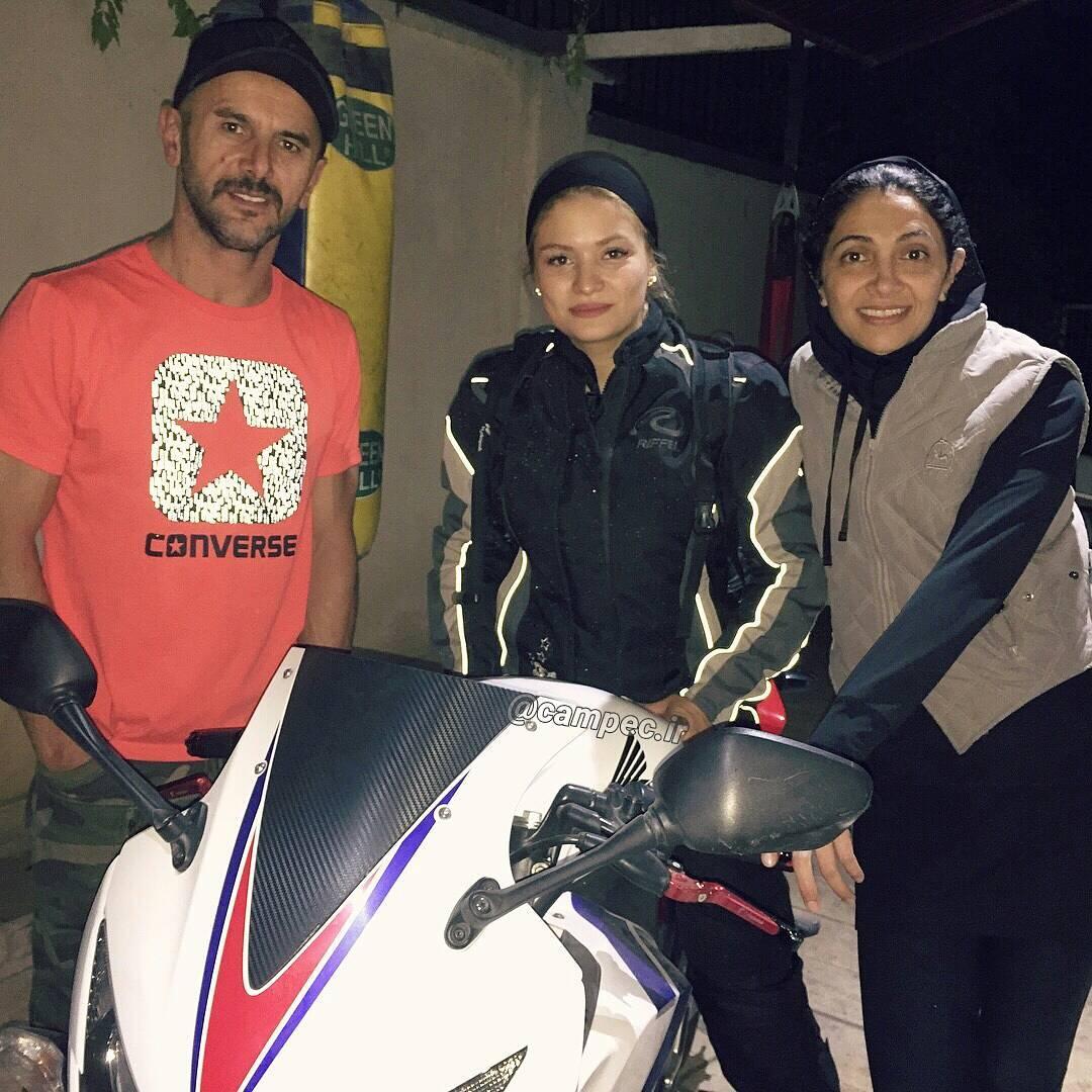 عکس کمیاب امین حیایی و همسرش نیلوفر خوش خلق