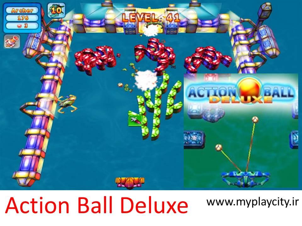 دانلود بازی اکشن Action Ball Deluxe برای کامپیوتر