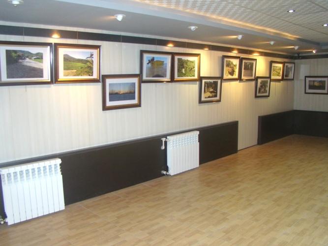برپایی نمایشگاه عکس و دست ساخته های چوبی امید دقیقی در آستانه اشرفیه