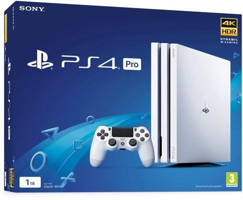 PS4 Pro White