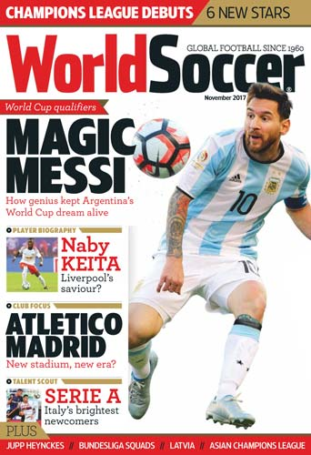 World Soccer November 2017