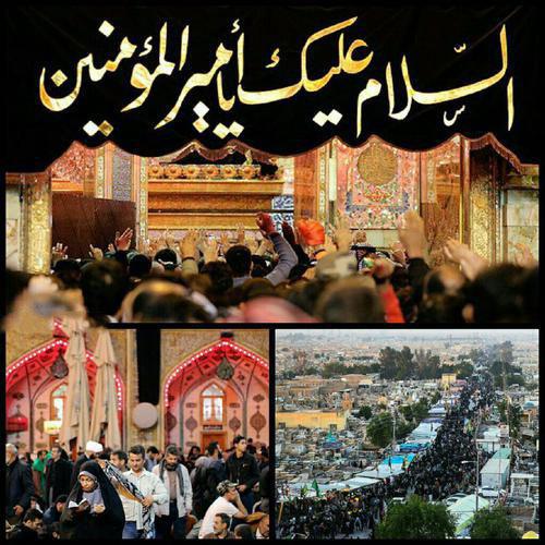 اجتماع زائرین و عزاداران حسینی ، مشتاق حضور در پیاده روی اربعین
