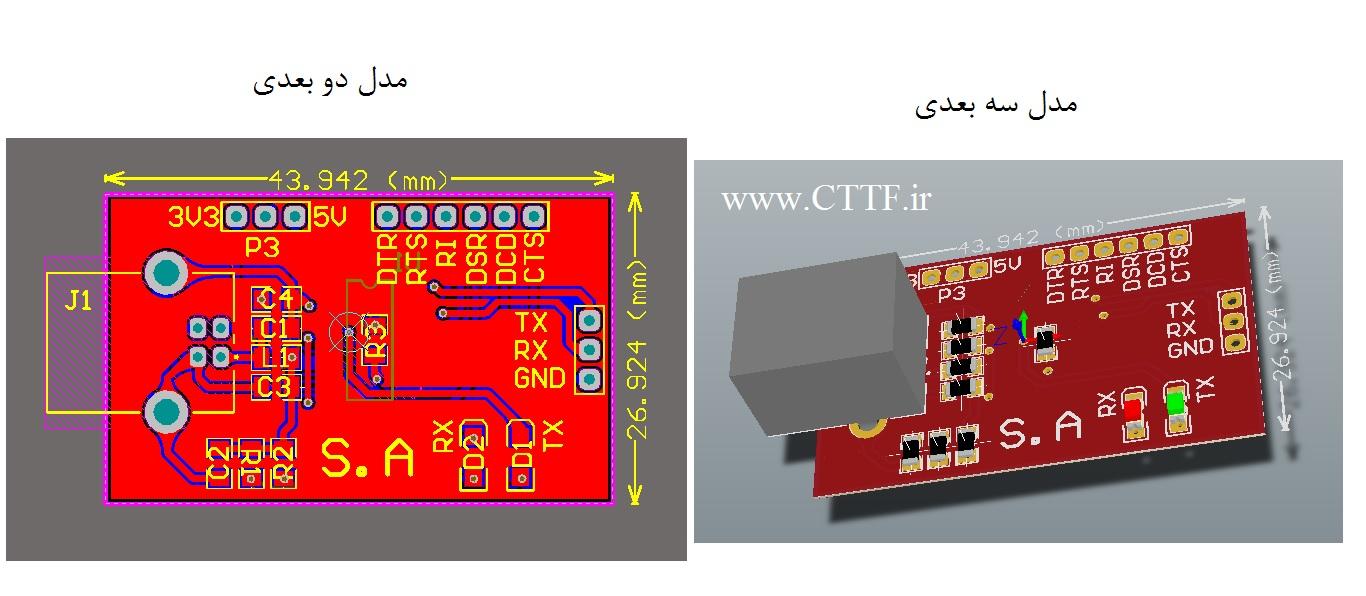 ft232 3D model