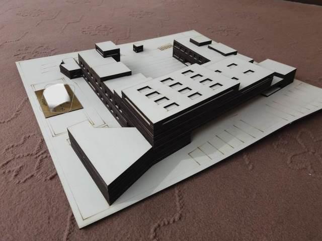 دریافت ماکت آماده معماری مدرسه