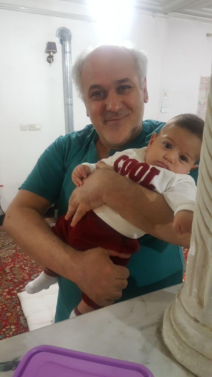 من و نوۀ من علی طالبی دارابی. آبان 1396. عکاس: عادل