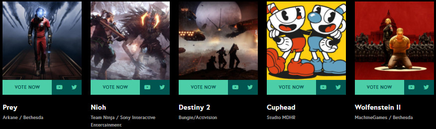 2017 11 14 192551 - نامزدهای مراسم The Game Awards 2017 مشخص شدند