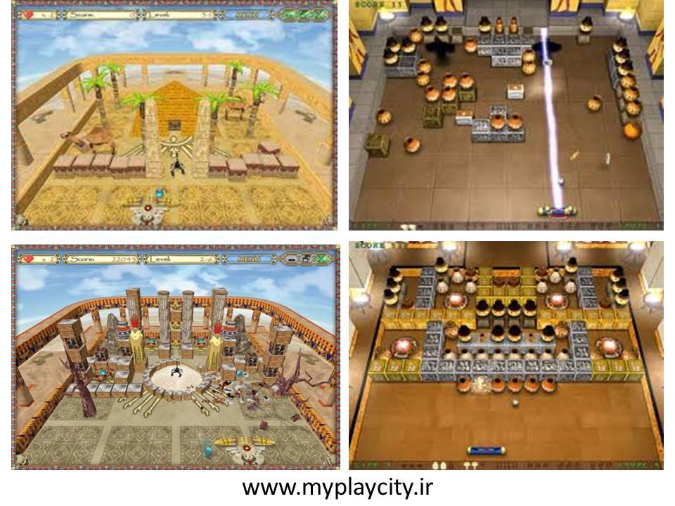 دانلود بازی Egypt Ball برای pc