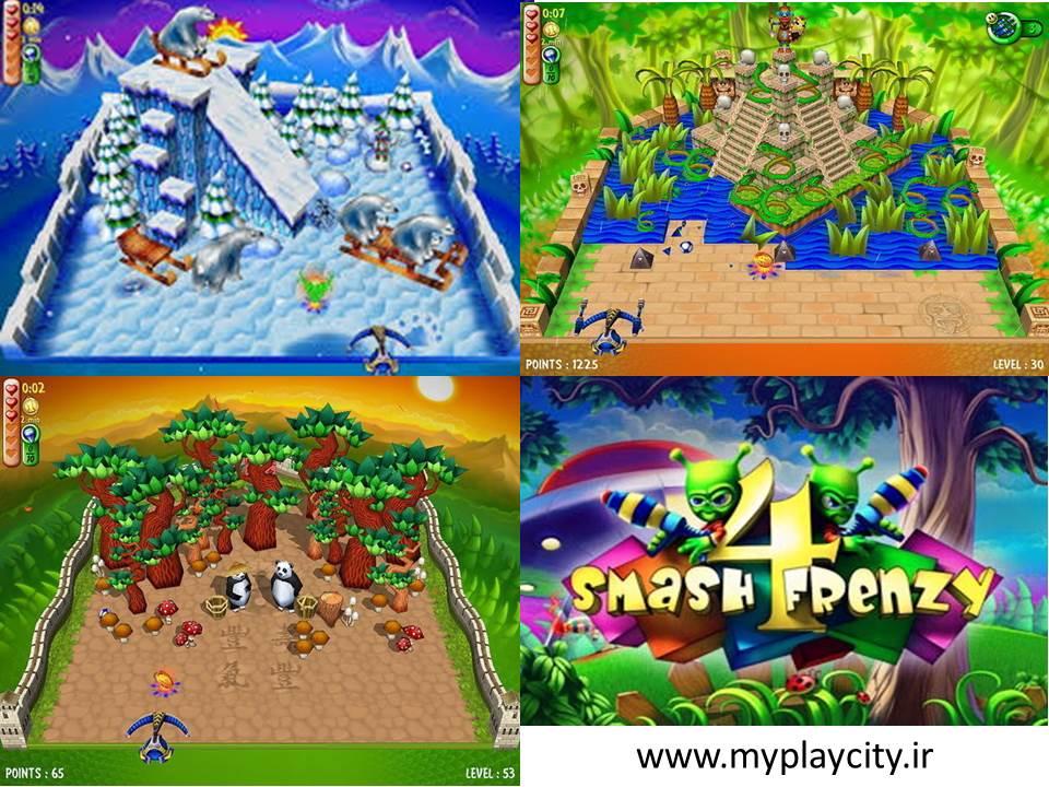 دانلود بازی  Smash Frenzy 4 برای کامپیوتر