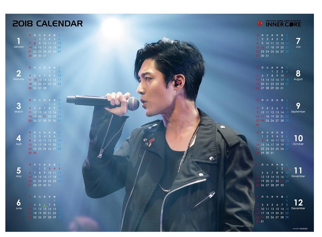 Henecia Japan Blu-ray and DVD Calendar 2017.11.10