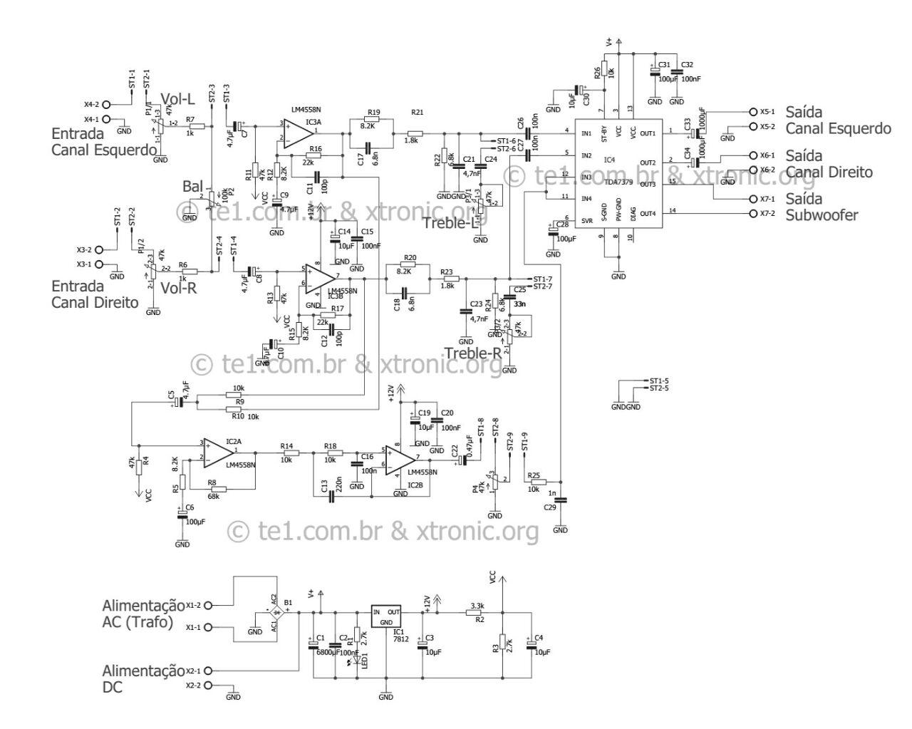 TDA7379-Amplifire-Circuit