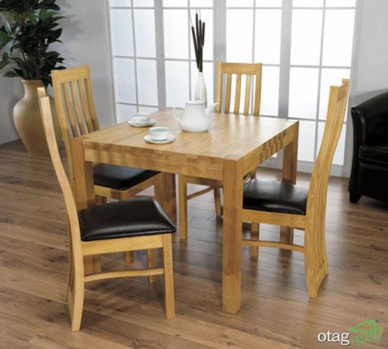 میزهای ناهارخوری چوبی