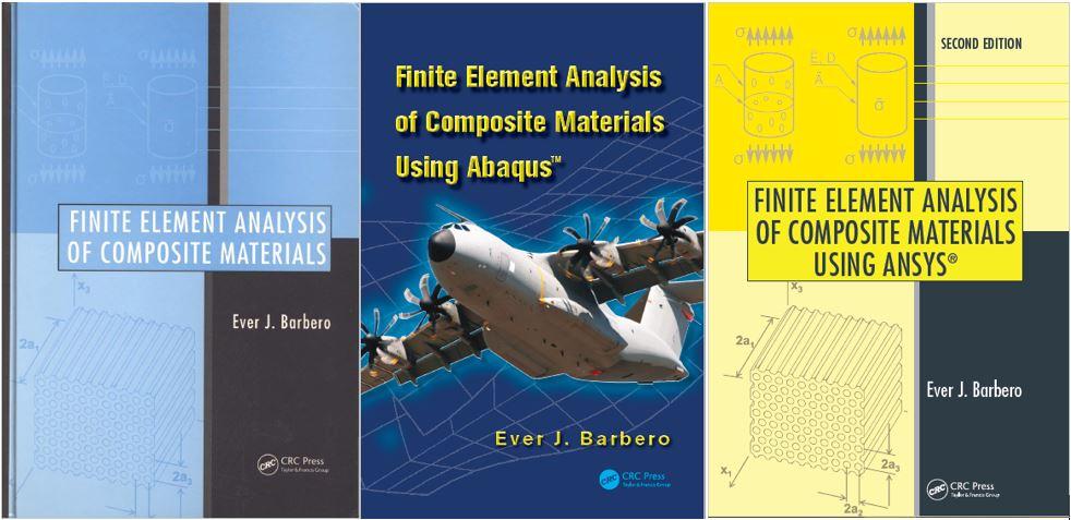 دانلود مجموعه سه جلدی تحلیل الیاف کامپوزیت در انسیس و آباکوس