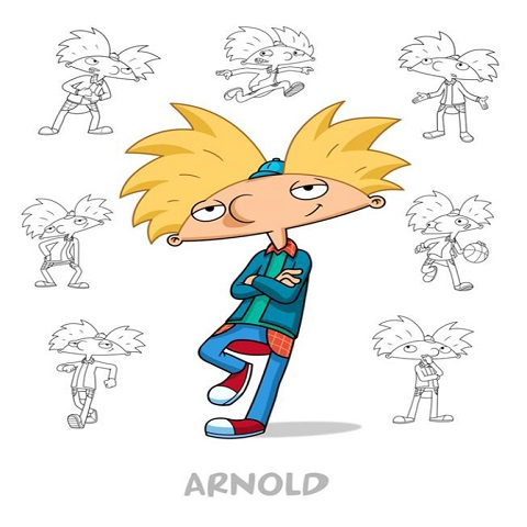 دانلود فیلم Hey Arnold The Jungle Movie 2017