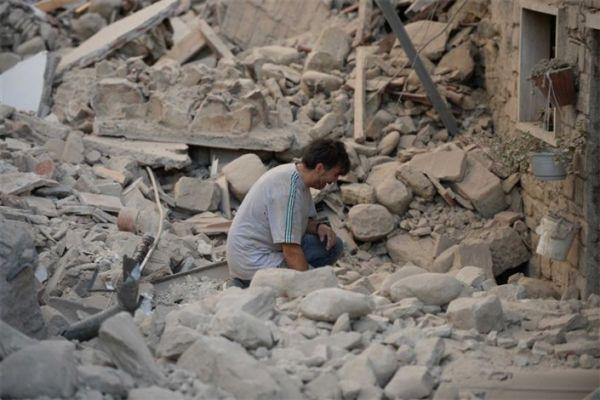 عکس تلخ از زلزله کرمانشاه