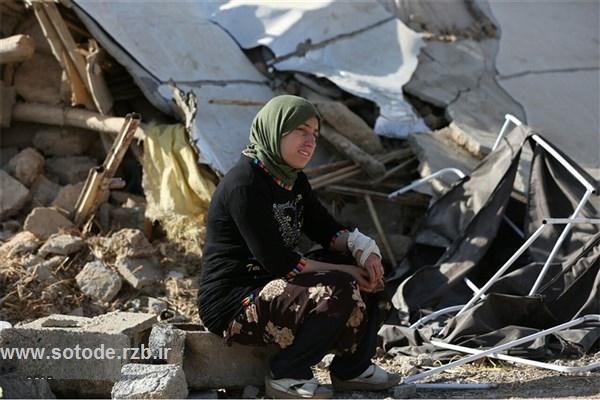 زنگ زردی خزان لیلا خطای پاییزه - عکس غمگین از زلزله کرمانشاه