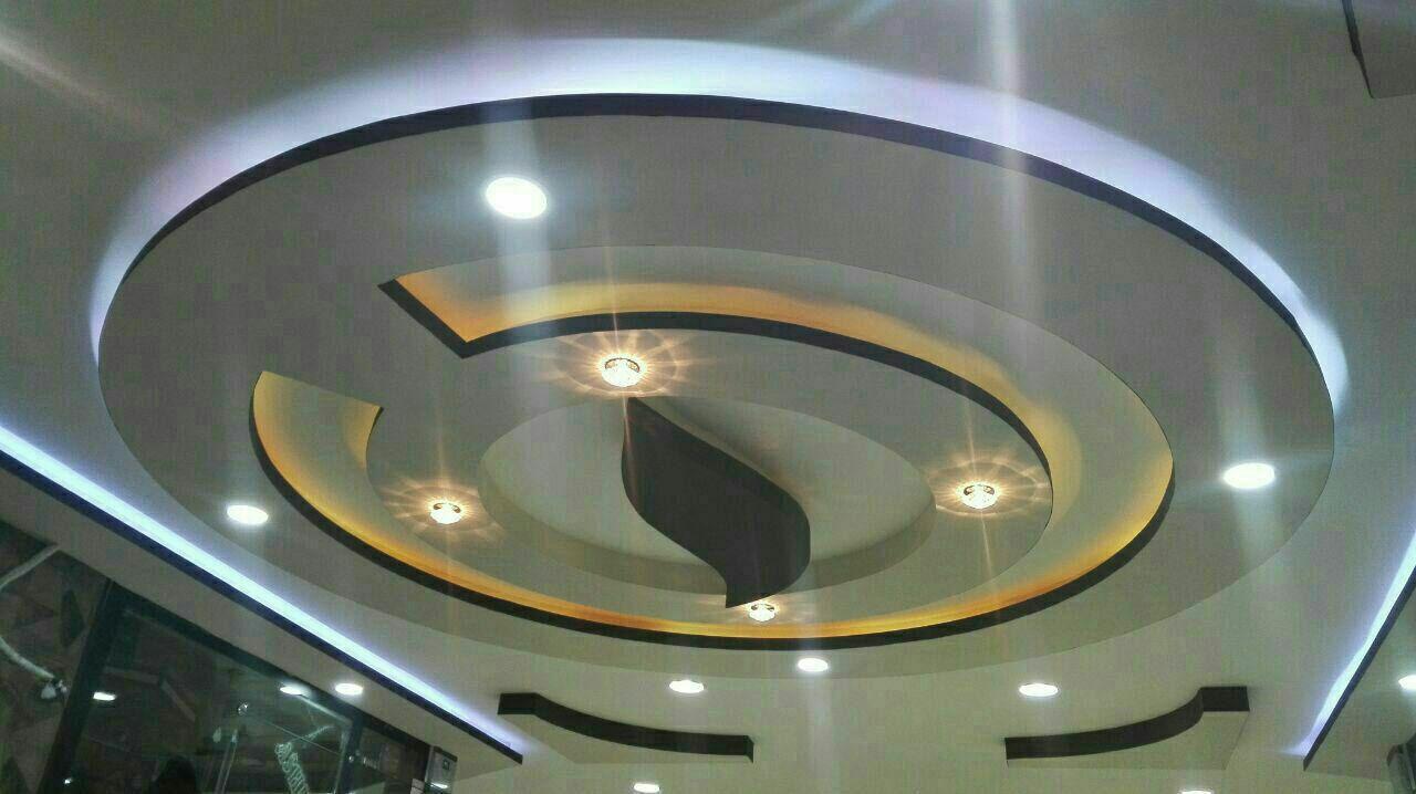 نقاشی سقف خانه با رنگ پلاستیک