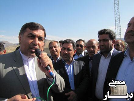 بازدید معاون وزیر راه و شهر سازی از جاده چهار بانده پل فهلیان به پل بریم
