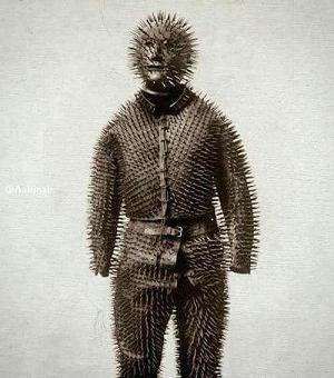 لباسي عجيب براي شکار خرس