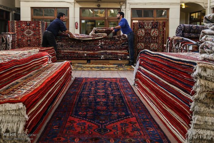 2بازار فرش تهران