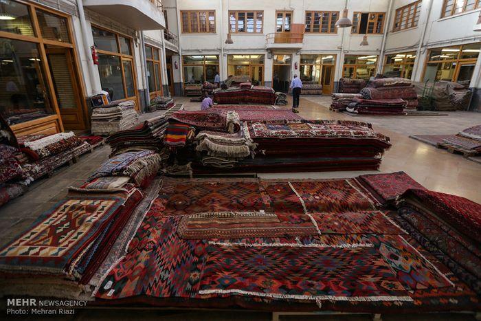 7Tehran carpet market