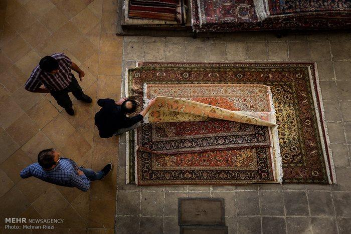 9Tehran carpet market