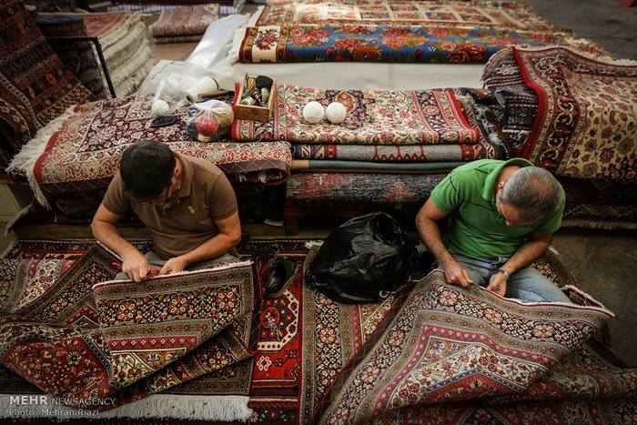 5Tehran carpet market
