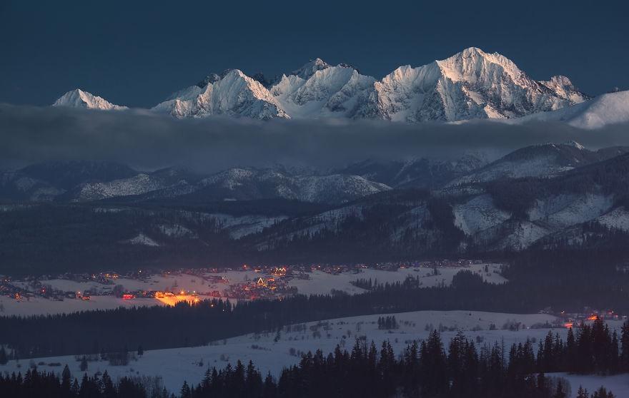 زمستان در کشور لهستان
