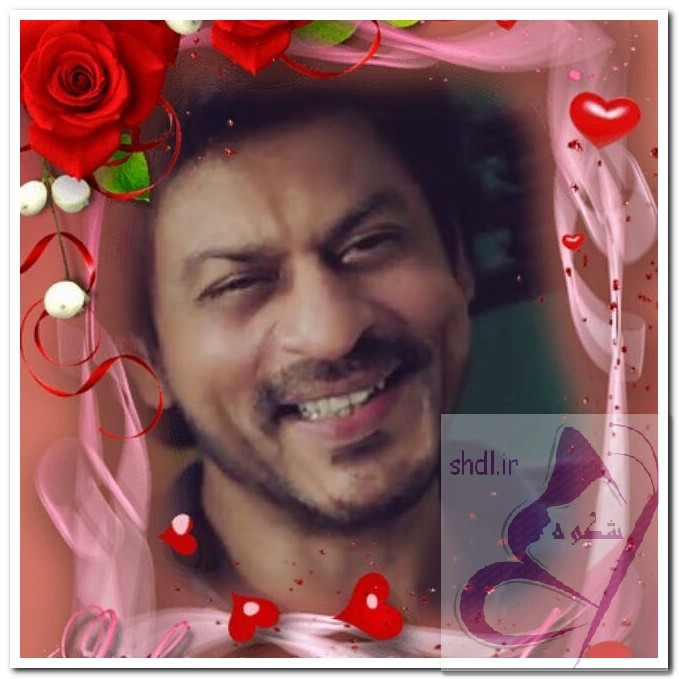 لبخند زیبای شاهرخ خان