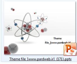 قالب پاورپوینت فیزیک هسته ای