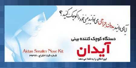 ید کوچک کننده بینی آیدان در شهر تهران و ارسال فوری