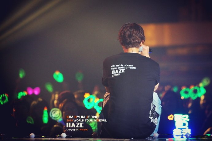 [HD Photos+Fanpics] Kim Hyun Joong Haze World Tour 2018 in Seoul [2017.12.02]
