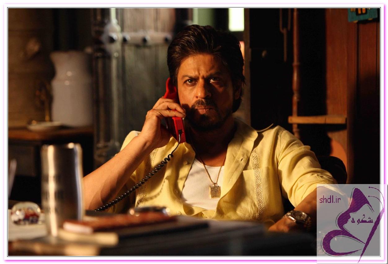 شاهرخ خان در فیلم بی نظیر رییس سکانس تلفن