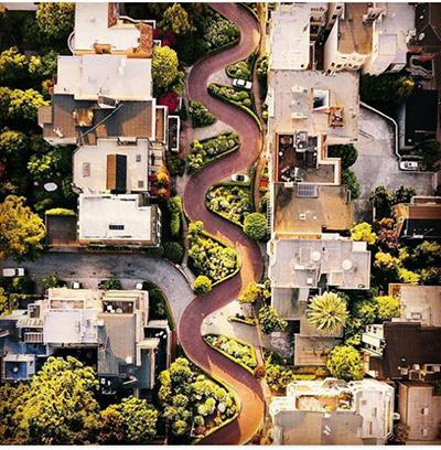 خیابان لومبارد سان فرانسیسکو آمریکا