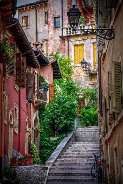 خیابان های ورونا در ایتالیا