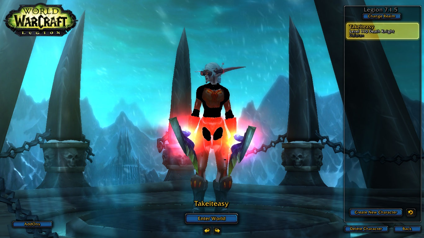 فروش هیرو Death Knight - takeiteasy - سرور wowzone