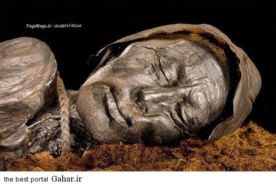عکس عجیب از جسد سالم در 2300 سال قبل