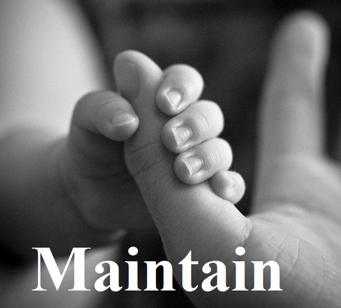 نگه داشتن – Maintain – آموزش لغات کتاب ۵٠۴ – English Vocabulary – کدینگ لغات ۵٠۴