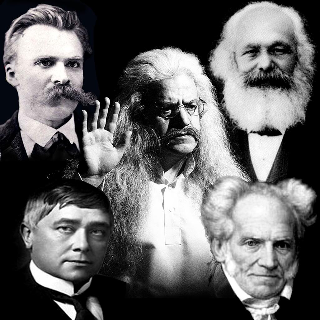 فیلسوف، فلاسفه، فلسفه، حکیم ارد بزرگ، فریدریش نیچه، کارل مارکس، موریس مترلینگ، شوپنهاور، بزرگترین فلاسفه جهان، عکس فلاسفه
