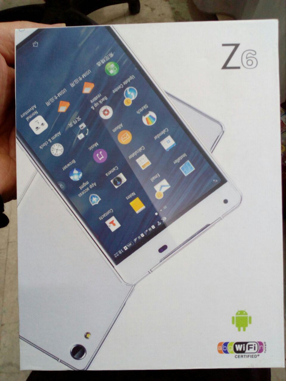 گوشی z6 mt6572