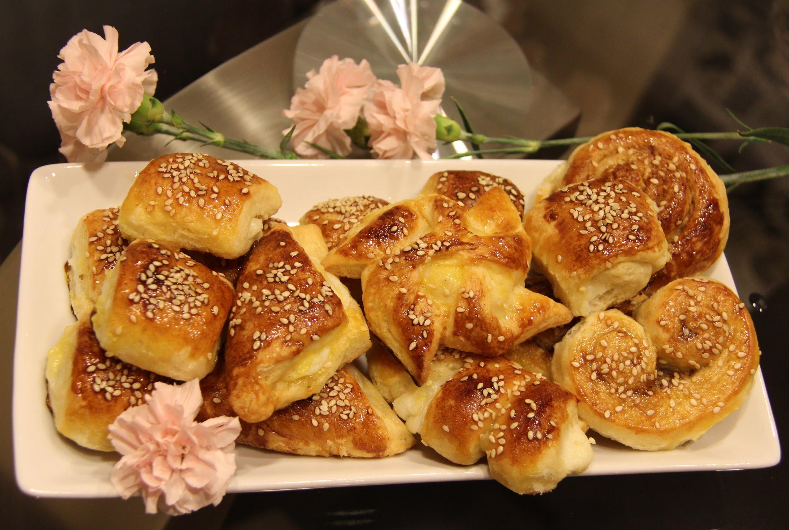 طرز تهیه شیرینی دانمارکی خانگی با کرم مخصوص