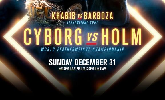 دانلود یو اف سی 219 | UFC 219 : Cyborg vs Holm