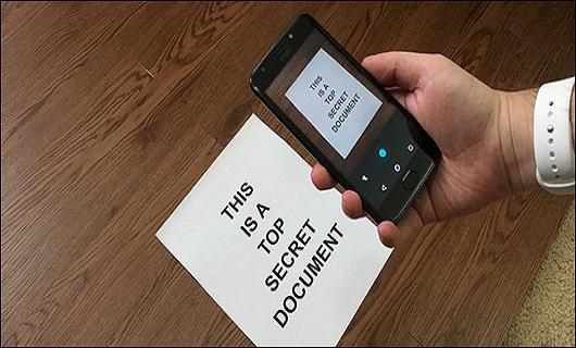 آموزش اسکن عکس یا برگه اسناد با استفاده از موبایل