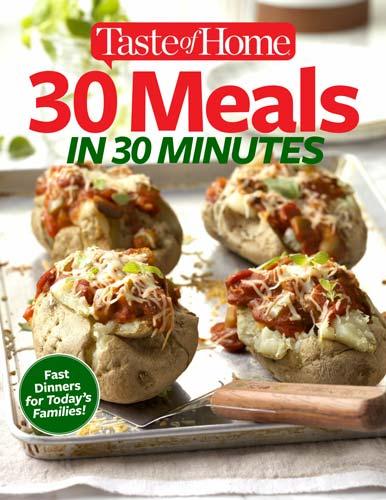 Meals in 30 Minutes December 2017