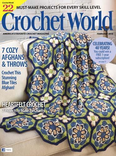 Crochet World February 2018