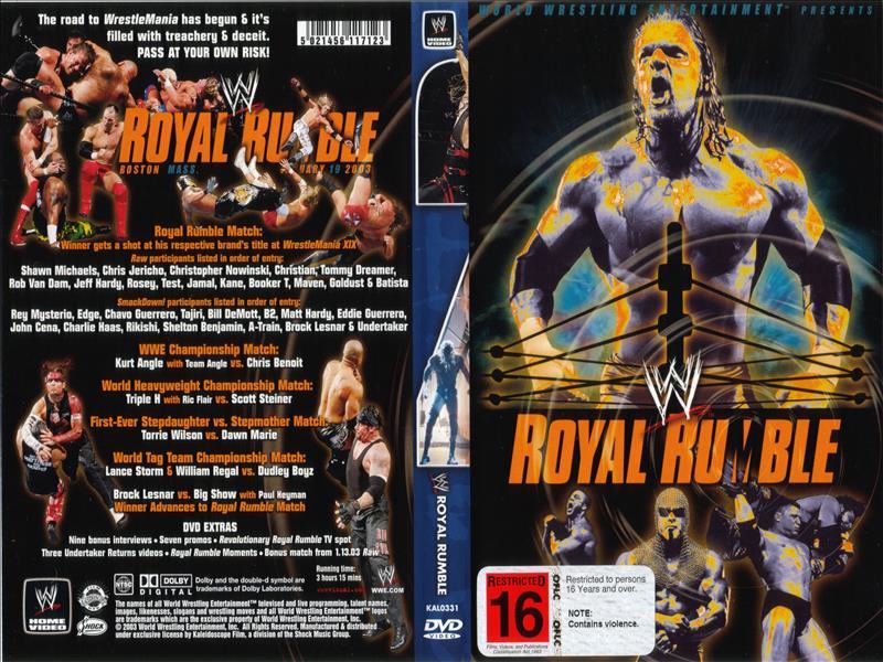 رویال رامبل 2003